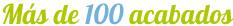 más de 100 acabados en cocinas