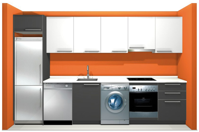 Forma hogar cocina mod sintra for Muebles de cocina alemanes
